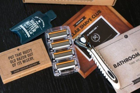Dollar Shave Club Subscription Boxes