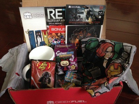Geek Fuel Subscription Boxes