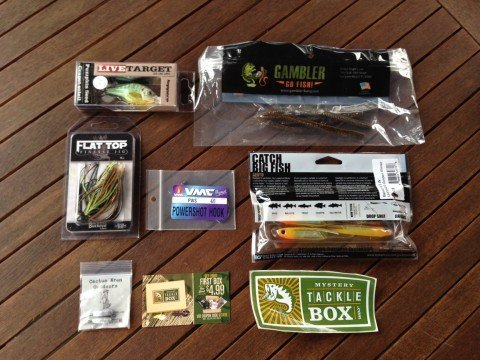 Mystery Tackle Box Subscription Boxes