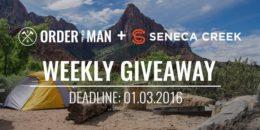 Seneca Creek giveaway