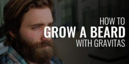 Grow a Beard with Gravitas
