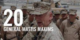 General Mattis Maxims