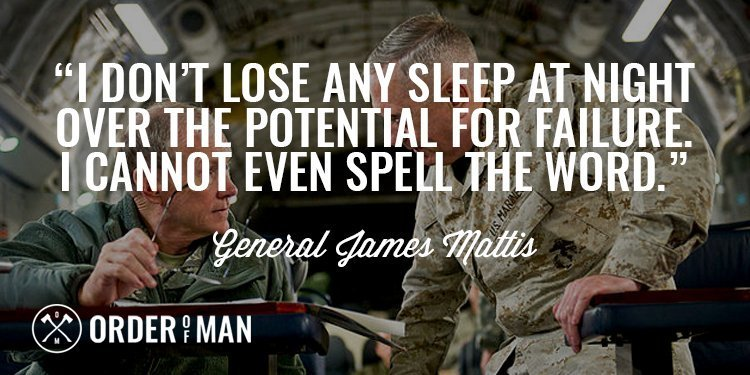 General Mattis Lose Sleep