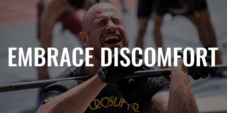 Embrace Discomfort