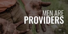 men are Providers