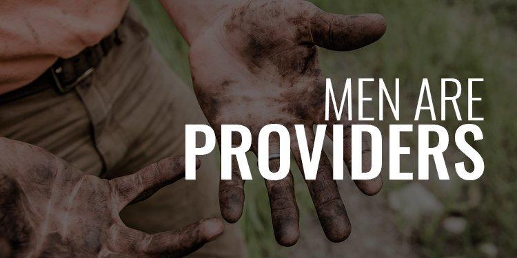 men are Providers