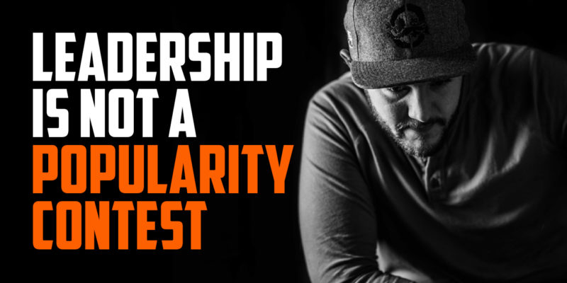 Today, I discuss how leadership is not a popularity contest. Hit me up on Instagram at @ryanmichler and share with me what's working in your life.
