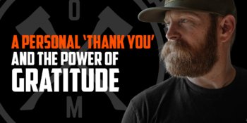 A Personal 'Thank You' and the Power of Gratitude