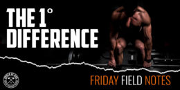 The 1˚ Difference | FRIDAY FIELD NOTES